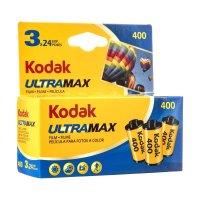 Kodak コダック Ultra Max 400 Color Negative Film ISO 400 24枚撮り3本パック